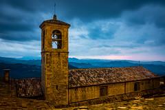 Sunset at San Marino