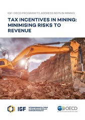 Tax Incentives in Mining: Minimising Risks to Revenue