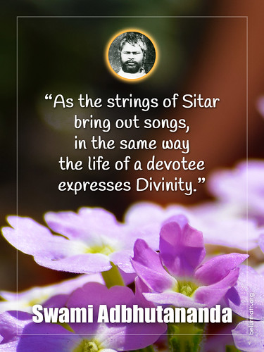 Inspiration Swami Adbhutananda