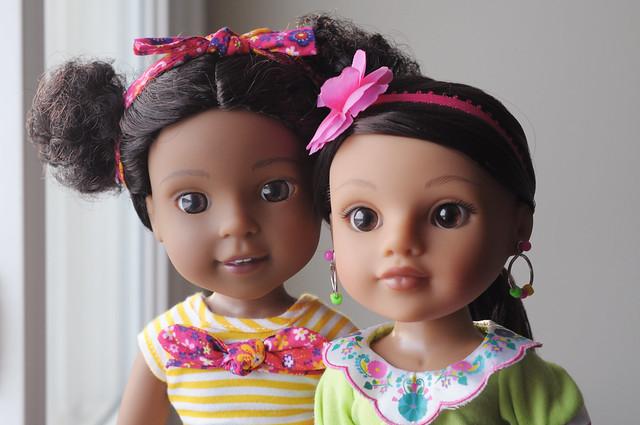 Phoebe and Valentina