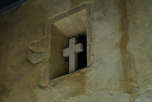 20090530 126 1109 Jakobus Arthez de Bearn Kirche Kreuz