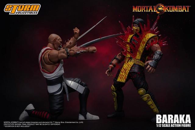 STORM COLLECTIBLES 《真人快打》變異狂戰士「巴拉卡」!Mortal Kombat – BARAKA Action Figure