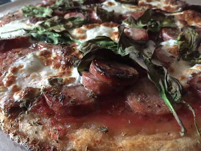 Aidells Link Pizza
