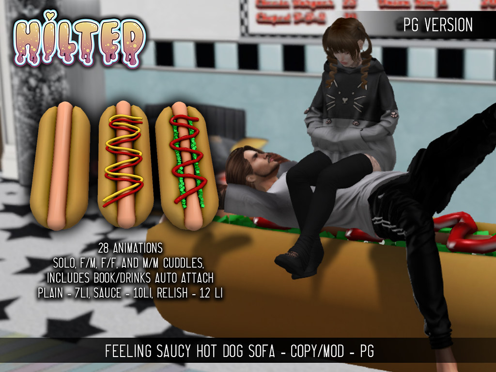 HILTED – Hot Dog PG Ad