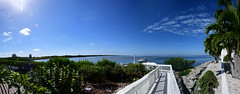 Gorgeous Blue Sky Blue Water Day Tampa Bay At Apollo Beach Florida - IMRAN™