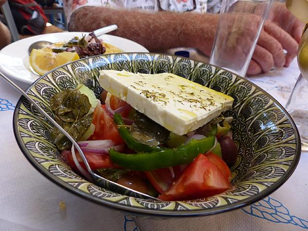 salade grecque égine
