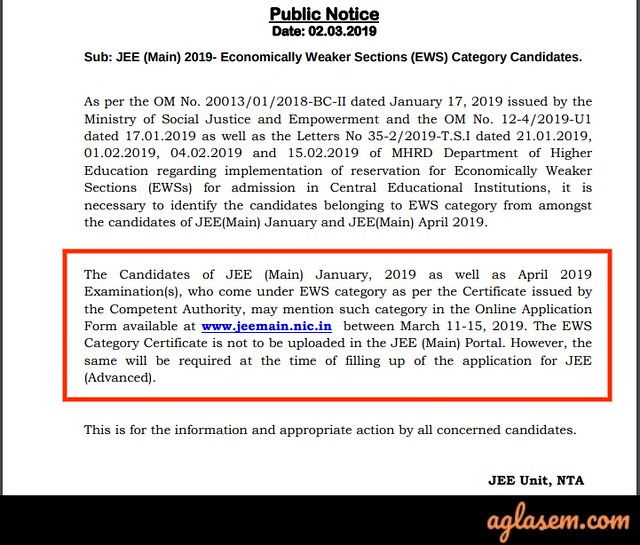 JEE Main 2019: Result, Percentile Score, AIR, Cut Off, Counselling
