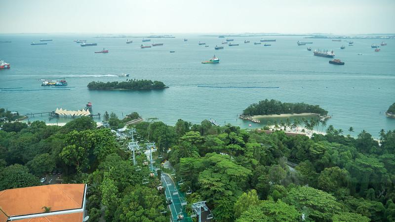 Sentosa view
