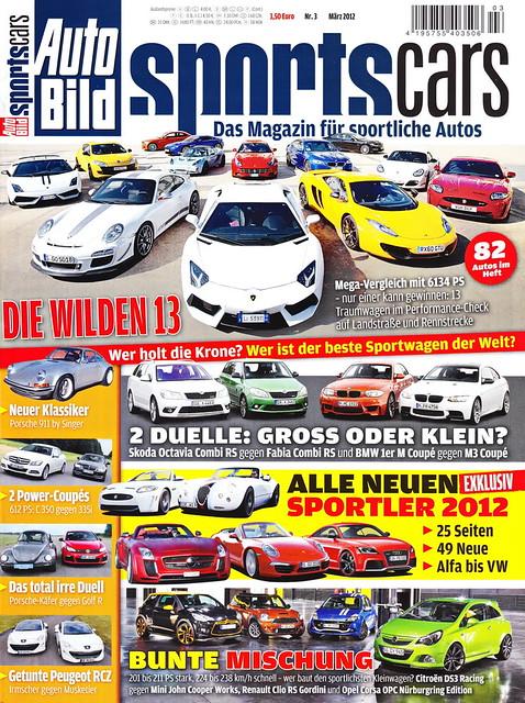 Auto Bild Sportscars 3/2012