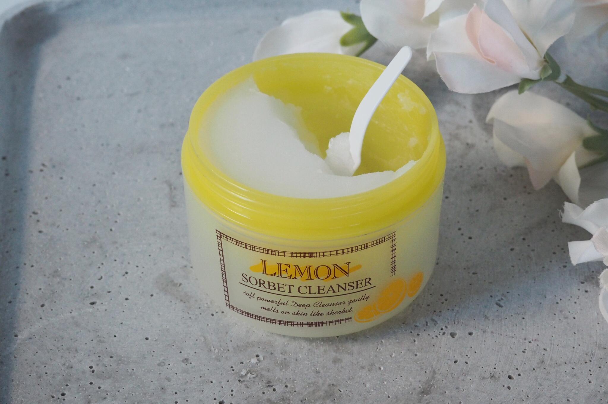 lemon sorbet cleanser