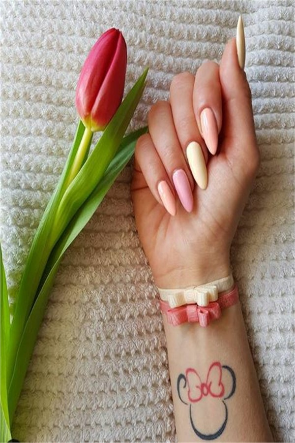30+  Stunning Long Nail Art Designs Ideas 2019 #nail_art_designs #winter_nails #long_nails