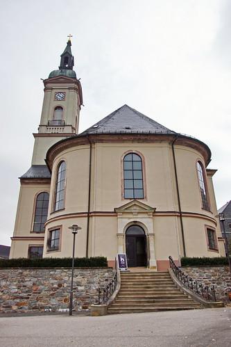 Laurentius Kirche in Lichtenstein - Sachsen