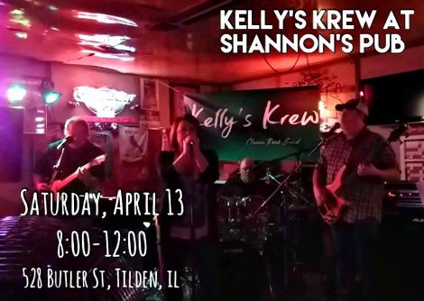Kelly's Krew 4-13-19