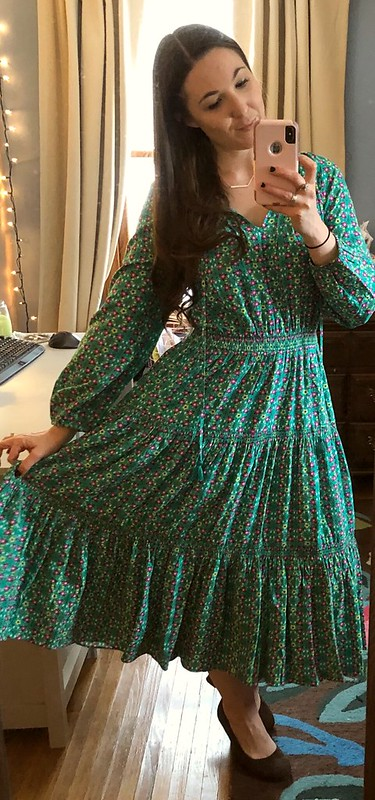 mjc long green dress age of aquarius dress