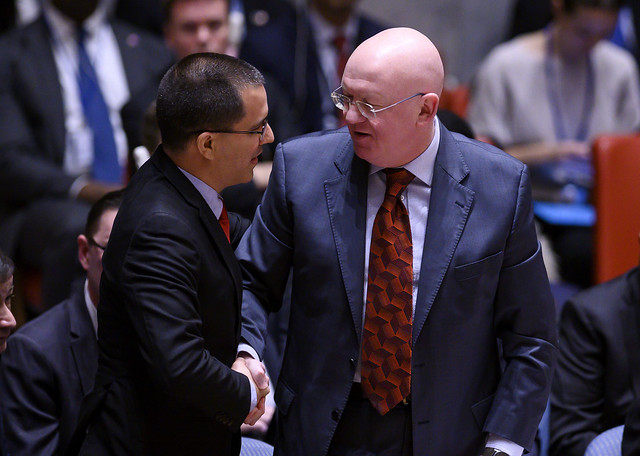 China e Rússia bloqueiam proposta americana na ONU sobre Venezuela