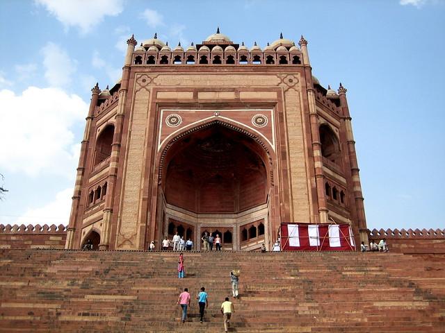 Puerta de Fatehpur Sikri
