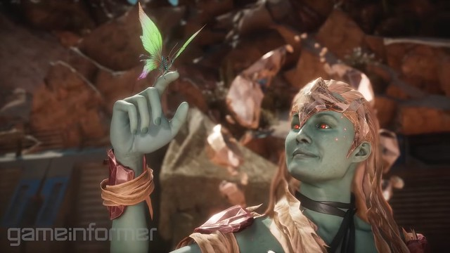 죽을 Kombat 11 - Cetrion Aloy Lookalike