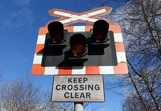 Keep Crossing Clear | by Tony Worrall