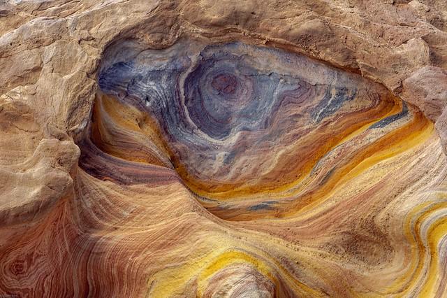 *Colored Canyon @ Allah's Eye*