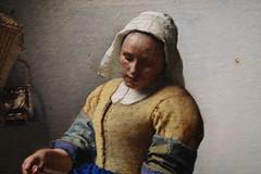 Vermeer, The Milkmaid, detail, ca. 1660; Rijksmuseum, Amsterdam (3)