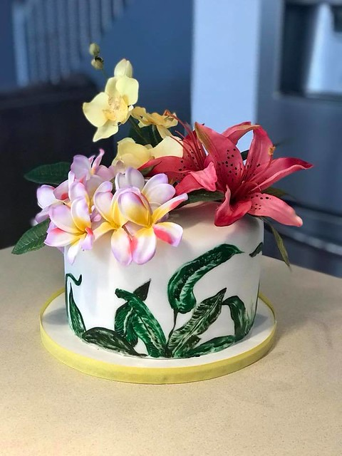 Hand Painted Cake from Treasured Cakes by Shannon