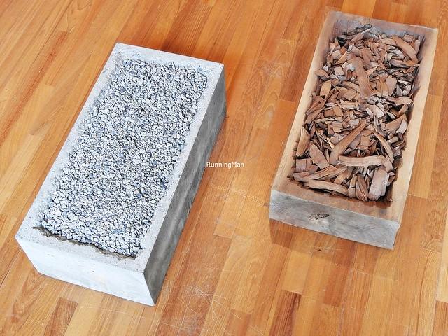 Oneness Of Concrete & Oneness Of Wood By Jiro Takamatsu