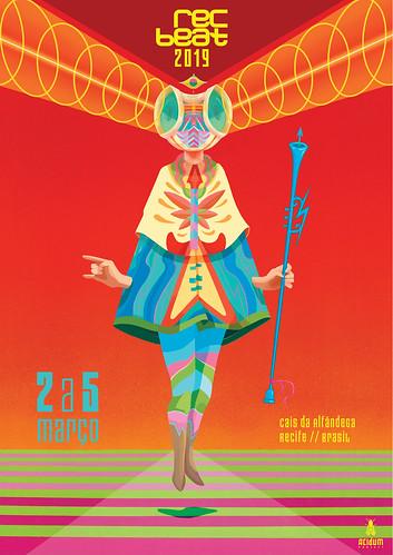 Poster Rec-Beat 2019, por Acidum