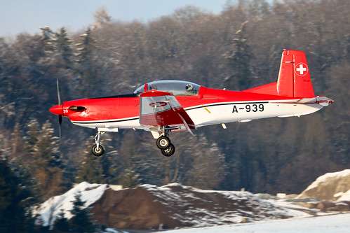 Pilatus PC-7 A-939 Swiss Air Force