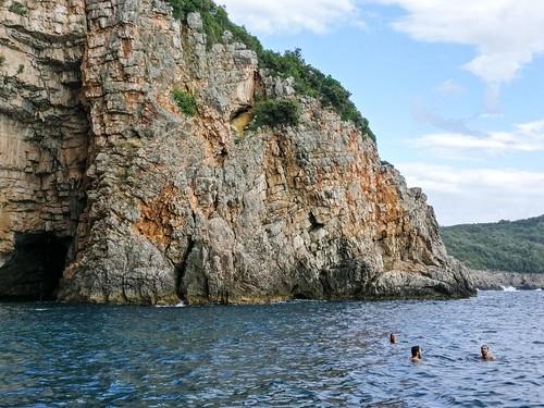 balkans cave europe kotor montenegro notmypic sea swim