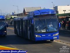Subus Chile / Recorrido 212: Caio Induscar Mondego LA - Volvo B-9SALF (WA9973).