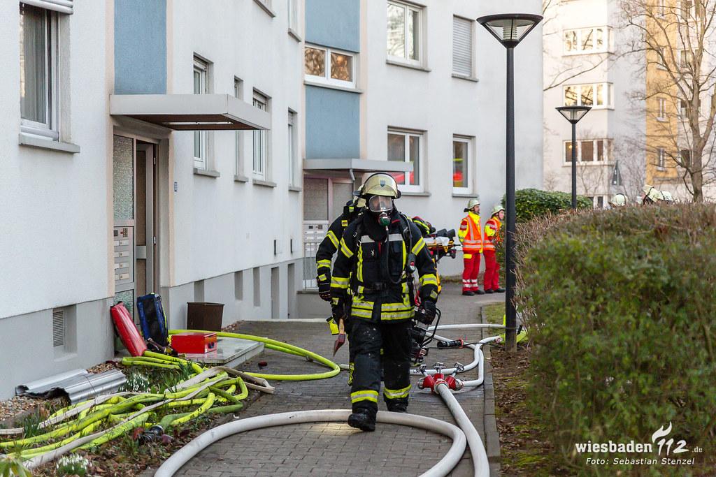 Wohnungsbrand Biebrich 24.02.19