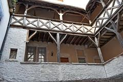Tournus - appartment courtyard