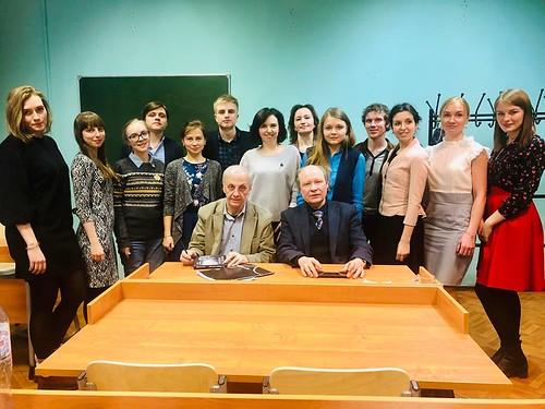Мар 5 2019 - 09:57 - Поэтический семинар, руководители Красников Г. и Ахматов А.