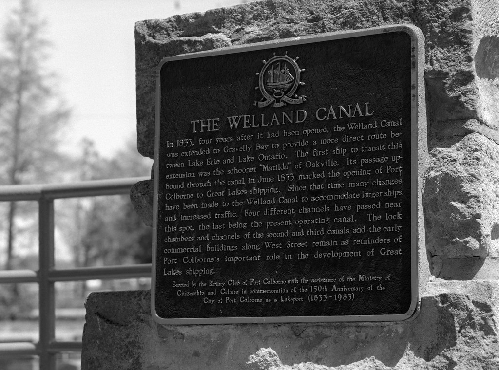 Project:1867 - The First Welland Canal