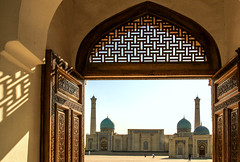 Happy Friday ! / Hazrat Imam mosque and Koran museum in Tashkent, Uzbekistan