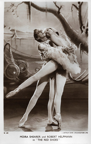 Moira Shearer and Robert Helpmann in The Red Shoes (1948)