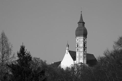 Kirchturm Kloster Andechs
