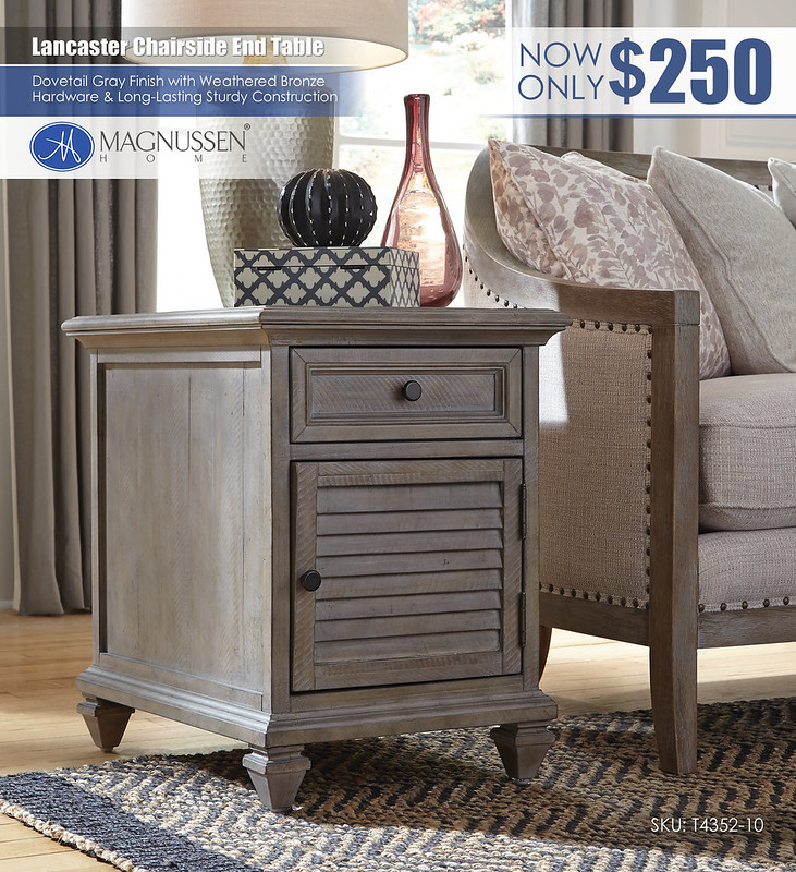Lancaster Chairside End Table_T4352-10