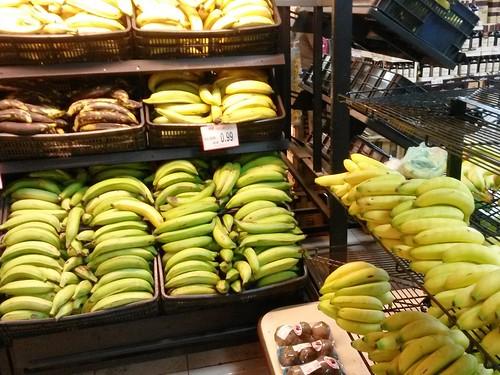 Bananen in allen Formen und Farben