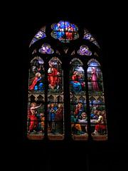 20080516 23604 0906 Jakobus Montbrison Kirche Fenster Ostern Magdalena