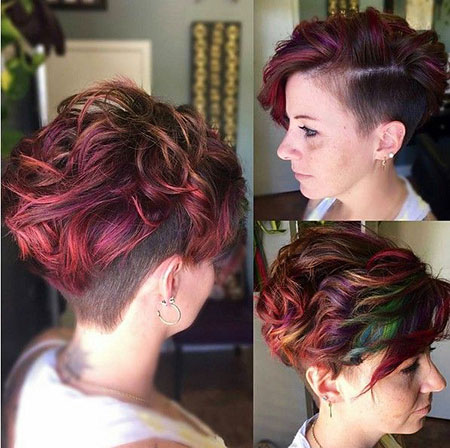 Beautiful Short Haircuts For Wavy Thick Hair Fashion 2d