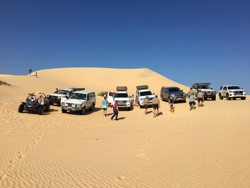 Kuier by Donkieskraal & The Dunes naby Lamberts Bay