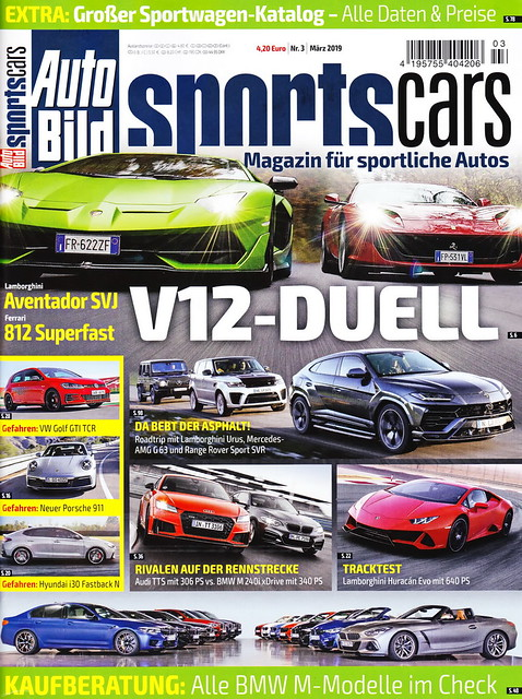 Auto Bild Sportscars 3/2019