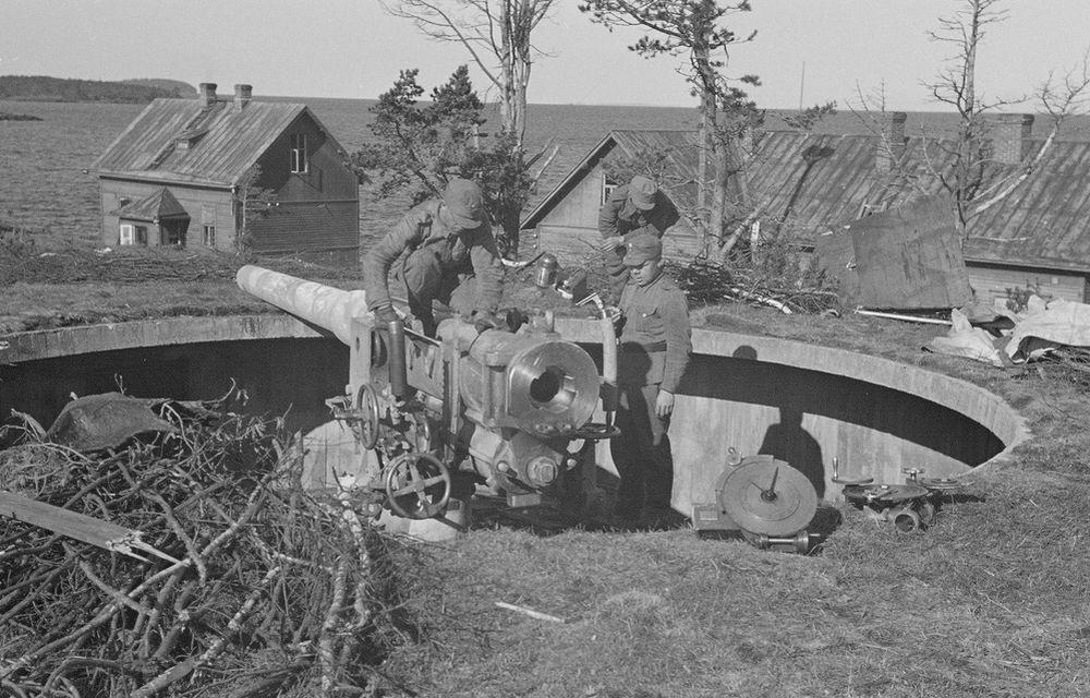 Финские укрепления на острове Валаам