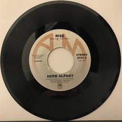 HERB ALPERT:RISE(RECORD SIDE-A)