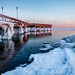 Centre Island pier and the polar vortex by Phil Marion