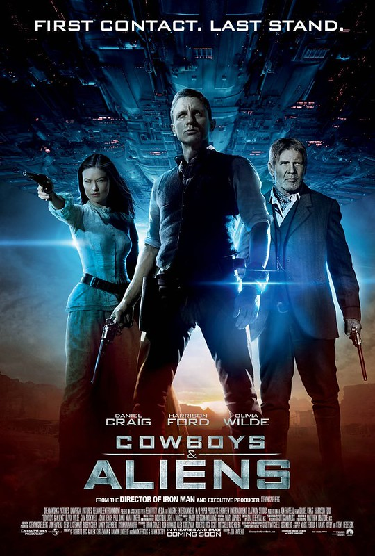 Cowboys & Aliens - Poster 5