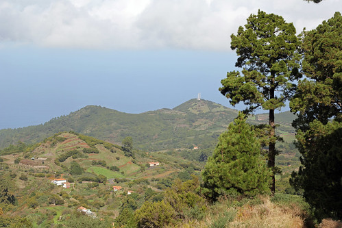View to the countryside of Garafia