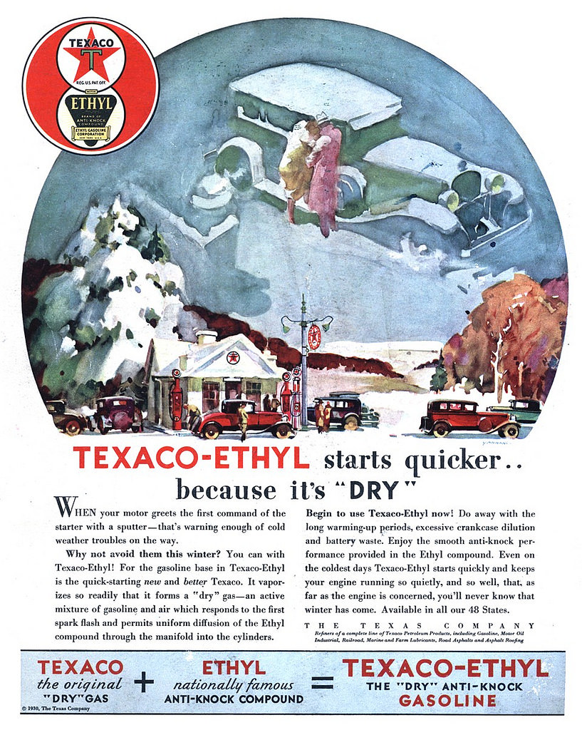 Texaco-Ethyl 1930