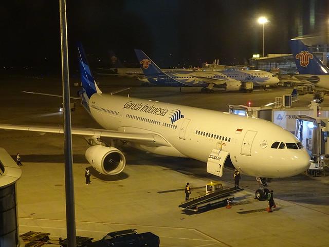 Garuda Indonesia Airbus A330 PK-GPW